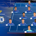Heres a look at the @ChelseaFC side that will take on Tottenham... #CFC https://t.co/01vloPuoXw