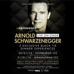 Looking forward to these two events! #AnExpWith @Schwarzenegger in #Edinburgh then #Birmingham Jan 2016! ???????? https://t.co/TkTM40KehP