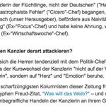 Merkel-Bashing – Die Angst der alten Männer vor jungen Flüchtlingen https://t.co/M1DAcSE35z @welt https://t.co/XyExTPaTSt