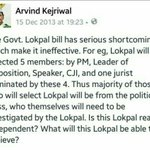 See what AK said then, & selection comm of #AAPKaJokePal: 3/4 are politicos &2/4 of govt.Duplicitous cheat or Fraud? https://t.co/bhUKdbfcnw