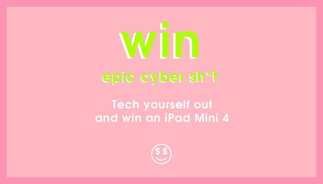OMG. Wanna win an iPad Mini 4? Follow + RT before midnight tonight to enter! T&C: https://t.co/aWzVik9bTr #EpicCyber https://t.co/0RBm7sg8Kx