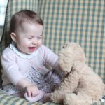 This photo of Princess Charlotte was also taken by The Duchess of Cambridge at home in Norfolk earlier this month. https://t.co/YHeJ5ItPmi