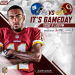 Wake up and get ready for #NYGvsWAS! Game info: https://t.co/kBT6wlYFPG https://t.co/WYKkSTvDQx