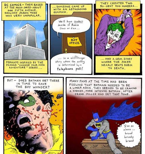 @DCComics @brianazzarello My autobio comic about voting to kill Jason Todd at @bleedingcool https://t.co/Kg0gA2lAoF https://t.co/FJTxoJTEdd