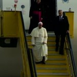 Pope Francis has landed at Ugandas Entebbe International Airport - #BBCAfricaLive --> https://t.co/Z22ZG35p0s https://t.co/BJ7si1JGjF