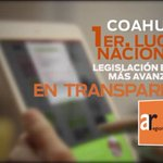#Coahuila 1er lugar nacional en Legislación Estatal más avanzada en transparencia #4oInforme @rubenmoreiravdz https://t.co/7m0PuxFs6U