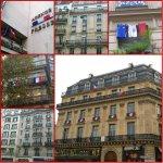 Des drapeaux tricolores dans les rues de Paris - Le LIVE de lAFP sur lhommage national: https://t.co/pfMeDKlXm1 https://t.co/eMrrwVmoqy