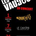 On vous avait annoncé du lourd pour 2016 ... en voici ! Faites tourner un max ! #Concert #Paris #Rock #IleDeFrance https://t.co/udBtOlrV4b