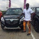 #KantankaIsInTown Kwabena Kwabena riding the Kantanka K71 from the Accra Mall to the West Hills Mall https://t.co/Dz5A5zy6kv
