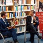 .@MashiRafael mantiene una entrevista con el coordinador académico del #OPALC Science Po #Poitiers https://t.co/8VnhyeyOdw