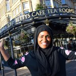 What fun we had the day @BegumNadiya came to Bettys. #GBBO https://t.co/5xcpcXhd2h