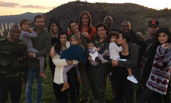 Inside the Kardashian-Jenner's 'blended family' Thanksgiving: