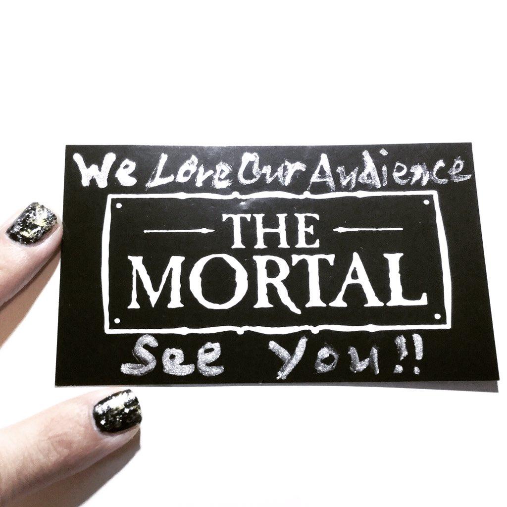 We love our audience, we love you all. サヨナラ, またいつの日か