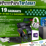 #Concours #PetitPapaTopAchat #lot2 ==> https://t.co/I4KOH8MMgK A vos RTs ^^ https://t.co/ByvBU6UOBk