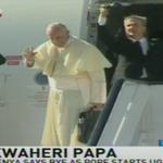 Pope leaves for Uganda #PopeInKenya #PopeInUganda https://t.co/dRs8iciR2K