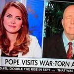 """Dear @FoxNews Africa is not """"war-torn"""". Africa is a continent with 54 countries most without conflict. #PopeinAfrica https://t.co/IaosBEGl4v"""