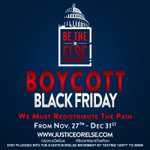 Withdraw economic support from those who dont love us. Boycott Black Friday. Keep your money. #RedistributeThePAIN https://t.co/uYoejTPJNw