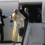 IN PICTURES: Pope departs to Uganda after wrapping Kenya visit, view via https://t.co/0h9MHa2G4U #PopeInKenya https://t.co/UtCBrk48ga