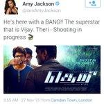 Amy Jackson About Thalapathy:) #Theri @iamAmyJackson @actorvijay @Atlee_dir https://t.co/oVB9eW4l0v