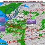 Минобороны показало на карте: как турецкие F-16 караулили и как сбили российский Су-24 над Сирией https://t.co/KTU0lCsqGF
