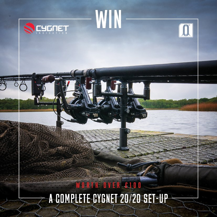 Win a Cygnet two rod 20/20 set-up. Follow @CygnetTackle & RT to enter! Winner announced Tuesday #Win #Competition https://t.co/8mSpmhxz7f