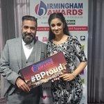 @SunnyandShay at the Birmingham awards #BrumAwards2015 https://t.co/ayR8NXcOnJ