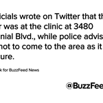 Police Respond To Reports Of Shooter In Colorado Springs Planned Parenthood Clinic https://t.co/7T27EClWxf https://t.co/t4mnkMDRFL
