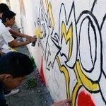 Hoy en el Colegio Camilo Ponce norte de #Quito realizamos Festival de Arte Urbano. Participan 4 centros educativos https://t.co/4ZWgxYI9KE