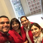Con grandes mujeres Coahuilenses @martha_garay @LilyGutierrezB @mayelahdzv un gusto verlas !! #4oInforme #Coahuila https://t.co/ePNDU2tFcO