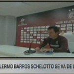 #Ahora en #SportsCenter Guillermo Barros Schelotto anunció que no seguirá en Lanús a fin de año. https://t.co/L7A2FGnsIp