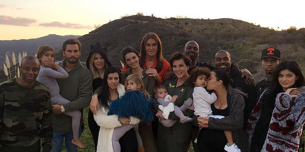 Thanksgiving was a family affair for the Kardashian-Jenners