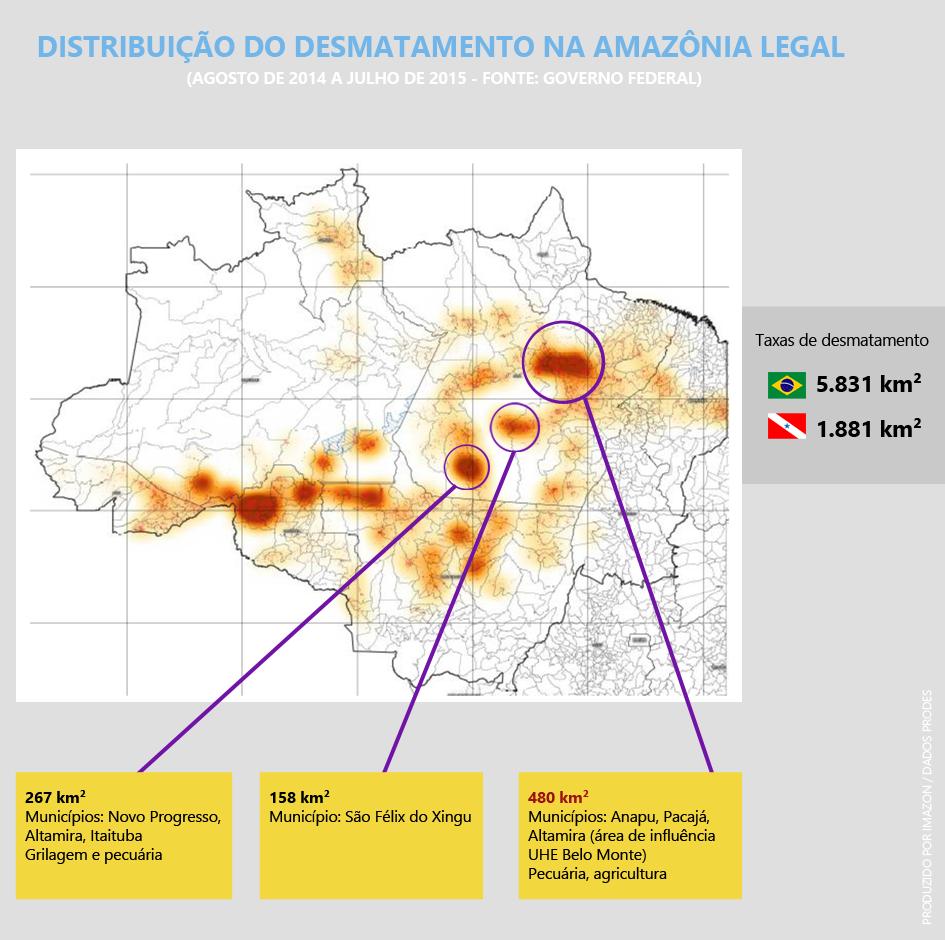 Área de influência da UHE Belo Monte é a + desmatada no PA. Estudo já previa números altos. https://t.co/NTDLrofoiG https://t.co/IJER5VPYwH
