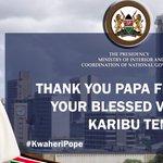 #PopeInKenya #KwaheriPope https://t.co/CPyXzGLe3i