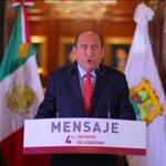 Mensaje del Gobernador @rubenmoreiravdz con motivo del #4oInforme #Coahuila https://t.co/XNmFilTBfd https://t.co/GWykWowLLk