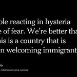 Japanese internment camp survivors discuss the backlash against Syrian refugees https://t.co/jEv0PLMwoj https://t.co/2PatEPq6BP