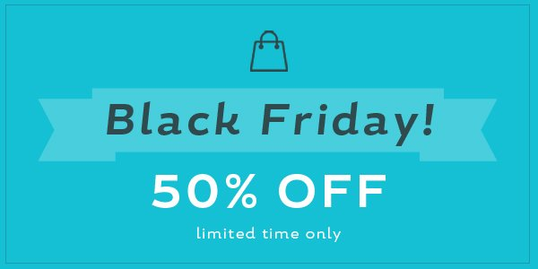 Happy #BlackFriday! Log in to your @create account to find a special #discount. Offer ends midnight on Monday. :) https://t.co/RTyJQFVSJ1
