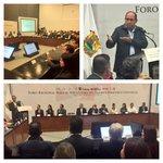 Inaugura @rubenmoreiravdz Foro para el Mecanismo del Exámen Periódico Universal @SEGOB_mx @SRE_mx @LXCongresoCoah https://t.co/xBfDNoL7HJ