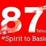 """87 Tahun Bersama Kita Tegar Berdiri Kembali ke """"Asal"""" demi 1 Tujuan,Kembalikan Kejayaan #SpiritToBasic #Persija87Th https://t.co/VbyuQ0NyGB"""