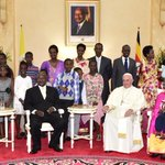 We are honored to host @Pontifex at a time when our nation is enjoying fruits of liberation by NRM. #PopeInUganda https://t.co/pN67iS5uoD
