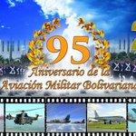 Hoy Felicitamos a la Aviación Militar Bolivariana en su día de nacimiento como Fuerza Bolivariana y Antiimperialista https://t.co/H1952k8fjH