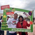 Gracias a la Dip. @martha_garay por sumarse al #TendederoMásGrande de #Coahuila https://t.co/9BXvLfPtCQ