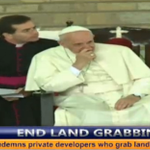 Pope Francis condemns private developers who grab land from the poor #PopeInKenya https://t.co/HywYhoGPMe