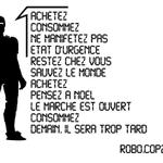 #RoboCOP21 État durgence. Achetez ! #COP21 #Antipub https://t.co/Yk6YC9VkvM