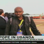 Pope in Uganda: Pope begins Uganda leg of Africa tour #NTVWeekendEdition @VickyRubadiri @MarkMasai https://t.co/a6dmRYRyBm