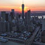 OneWTC in #sunset lights. #newyork #NYC by @JayOBs via @nyonair https://t.co/X4PNsBnCXV