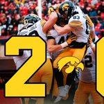 PERFECTION. For the 1st time in program history, Iowa finishes the regular season, 12-0. https://t.co/eQ1rcf5qaR