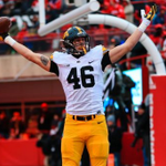 12 up, 12 down! Iowa reaches 12 wins for first time in school history, stays unbeaten with 28-20 win at Nebraska. https://t.co/gTuHSmQlGd