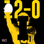 UNDEFEATED. No. 4 Iowa tops Nebraska, 28-20, to reach their 1st 12-0 season in school history. https://t.co/g82k5qr0Ln