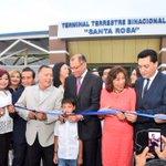 #ViceGlasEnElOro inaugurando #ObrasQueCambianVidas como #TerminalBinacional. Gracias Revolución Ciudadana! https://t.co/ER4YHeKkBX