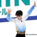 https://t.co/El5eJ9Yv4f #フィギュアスケート の #NHK杯。男子SPで羽生結弦選手が世界歴代最高点で首位に立ちました。女子SPは宮原知子選手が首位です。リンクから写真21枚見られます。(志) https://t.co/ZD4jEKyoW6